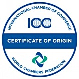 Certificates of Origins Stamp